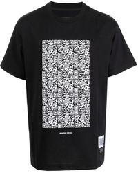 Fumito Ganryu グラフィック ショートスリーブ Tシャツ - ブラック