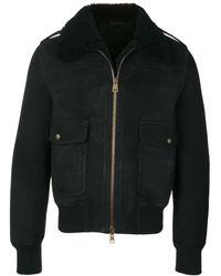AMI ボンバージャケット - ブラック