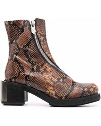 GmbH Riding Ankle Boots - Brown