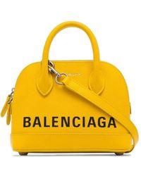 Balenciaga Сумка Через Плечо Ville Xxs - Желтый