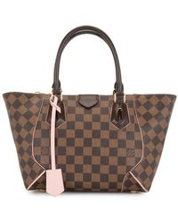 Louis Vuitton Borsa tote Damier Ebène Pre-owned - Marrone