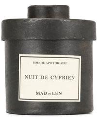 Mad Et Len Nuit De Cyprien Candle (300g) - White