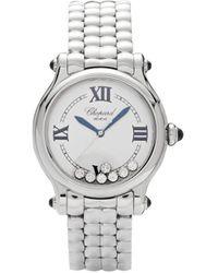 Chopard Наручные Часы Happy Sport 33 Мм - Белый