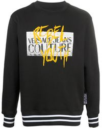 Versace Jeans Couture - ロゴ スウェットシャツ - Lyst