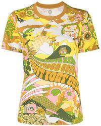Tory Burch - プリント Tシャツ - Lyst