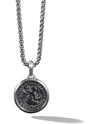 David Yurman St. Christopher Amulet - Zwart