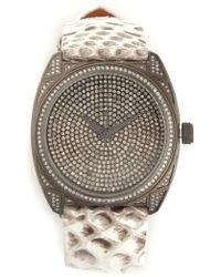 Christian Koban 'dom' Diamond Watch - Natural