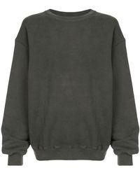 Yeezy Oversized Crewneck Sweatshirt - Grey