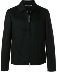 Valentino ジップアップ ジャケット - ブラック