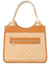 Louis Vuitton 2004 Cat Line Handbag - Brown