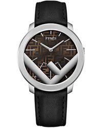 Fendi Часы 'run Away Ss' - Черный
