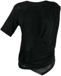 Unravel Project - ドレープ Tシャツ - Lyst