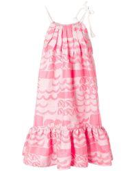 Tsumori Chisato - Printed Balloon Dress - Lyst