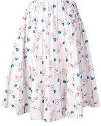 Marni - Floral Skirt - Lyst