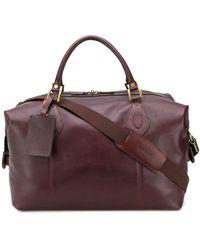 Barbour Travel Explorer Holdall Bag - Brown
