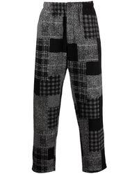 Engineered Garments - パッチワーク ストレートパンツ - Lyst