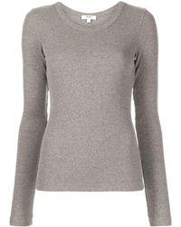 Agolde Maya ロングtシャツ - グレー