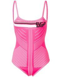 Prada - Logo Knit Body - Lyst
