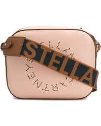 Stella McCartney Crossbodytas Met Logo - Roze