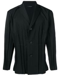 Issey Miyake - Classic Fitted Blazer - Lyst