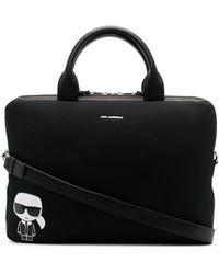 Karl Lagerfeld Сумка Для Ноутбука K/ikonik - Черный