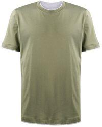 Brunello Cucinelli - レイヤードスタイル Tシャツ - Lyst