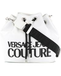 Versace Jeans Couture ロゴ バケットバッグ - マルチカラー