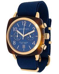 Briston Clubmaster Classic Horloge - Blauw