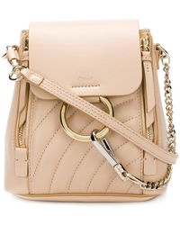 Chloé - Quilted Faye Backpack - Lyst