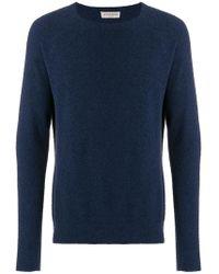 Al Duca d'Aosta - Brushed Casual Sweater - Lyst