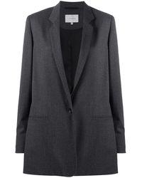 La Collection Marilyn オーバーサイズ シングルジャケット - グレー
