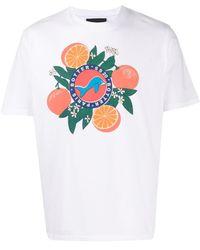 BOTTER プリント Tシャツ - ホワイト