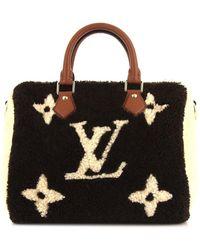 Louis Vuitton Сумка-тоут Speedy Pre-owned - Черный