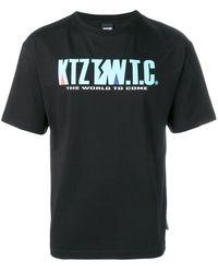 KTZ Mountain Letter T-shirt - Black