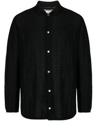 Coohem Fine-knit Shirt - Black