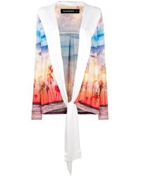 Filles A Papa - Kenny Sunset Print Jacket - Lyst
