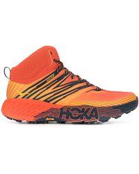 Hoka One One Speedgoat Mid 2 Gore-tex Trail Trainers - Orange