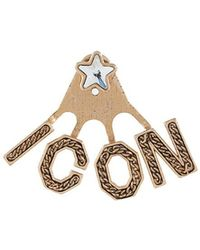 DSquared² - Icon Drop Earring - Lyst