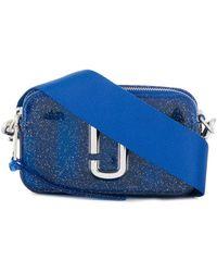 Marc Jacobs Bolso de hombro con logo - Azul