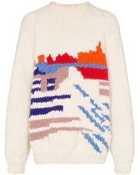 BETHANY WILLIAMS インターシャ セーター - マルチカラー