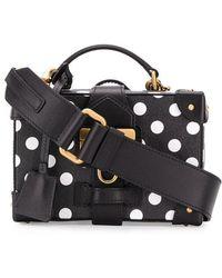 Moschino - Polka Dot luggage Bag - Lyst