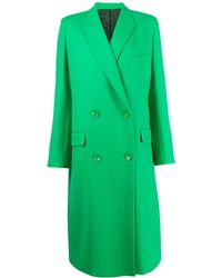 Christian Wijnants Double-breasted Janka Coat - Green