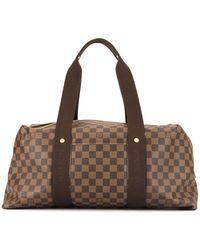 Louis Vuitton Pre-owned Weekender Mm - Brown