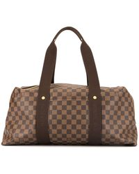 Louis Vuitton Sac de voyage Weekender MM - Marron