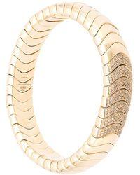 Mattia Cielo - Bracelet jonc en or 18ct et diamants - Lyst