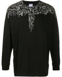 Marcelo Burlon グラフィック Tシャツ - ブラック