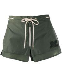 Courreges Short Shorts - Green
