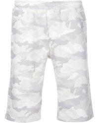 Loveless Camouflage Shorts - White