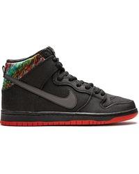 Nike Кроссовки Dunk High Premium Sb - Черный