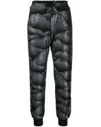 Fila ロゴストライプ セーター - ブラック